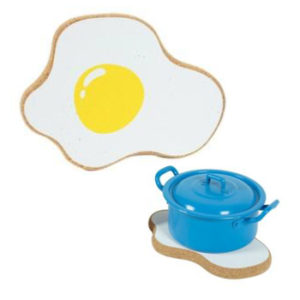 Protect Tables, Decorative Hot Pad (egg) - CORKCHO