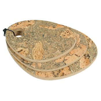 Protect Tables, Decorative Cork Rounded Hot Pad - CORKCHO