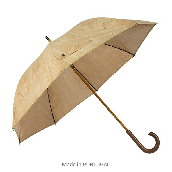 Stylish, practical, natural Cork Umbrella - CORKCHO