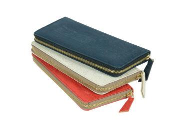Zip-around, well-organized Cork Hand Wallet - CORKCHO