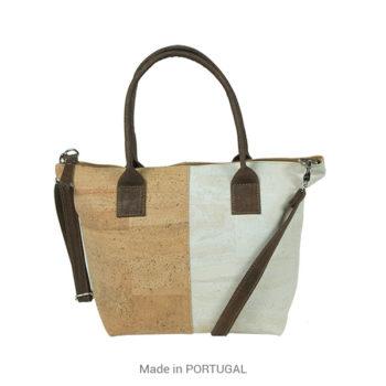 Stylish, spacious Cork White designed Purse - CORKCHO