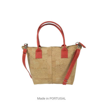 Cork red bag