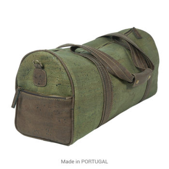 Cork Green Sport Bag Spacious, Stylish Designed - CORKCHO