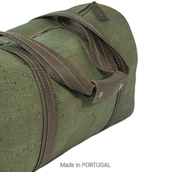 Cork-Green-Sport-Bag