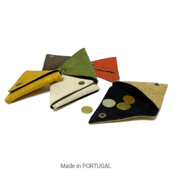 Cork Triangle purses