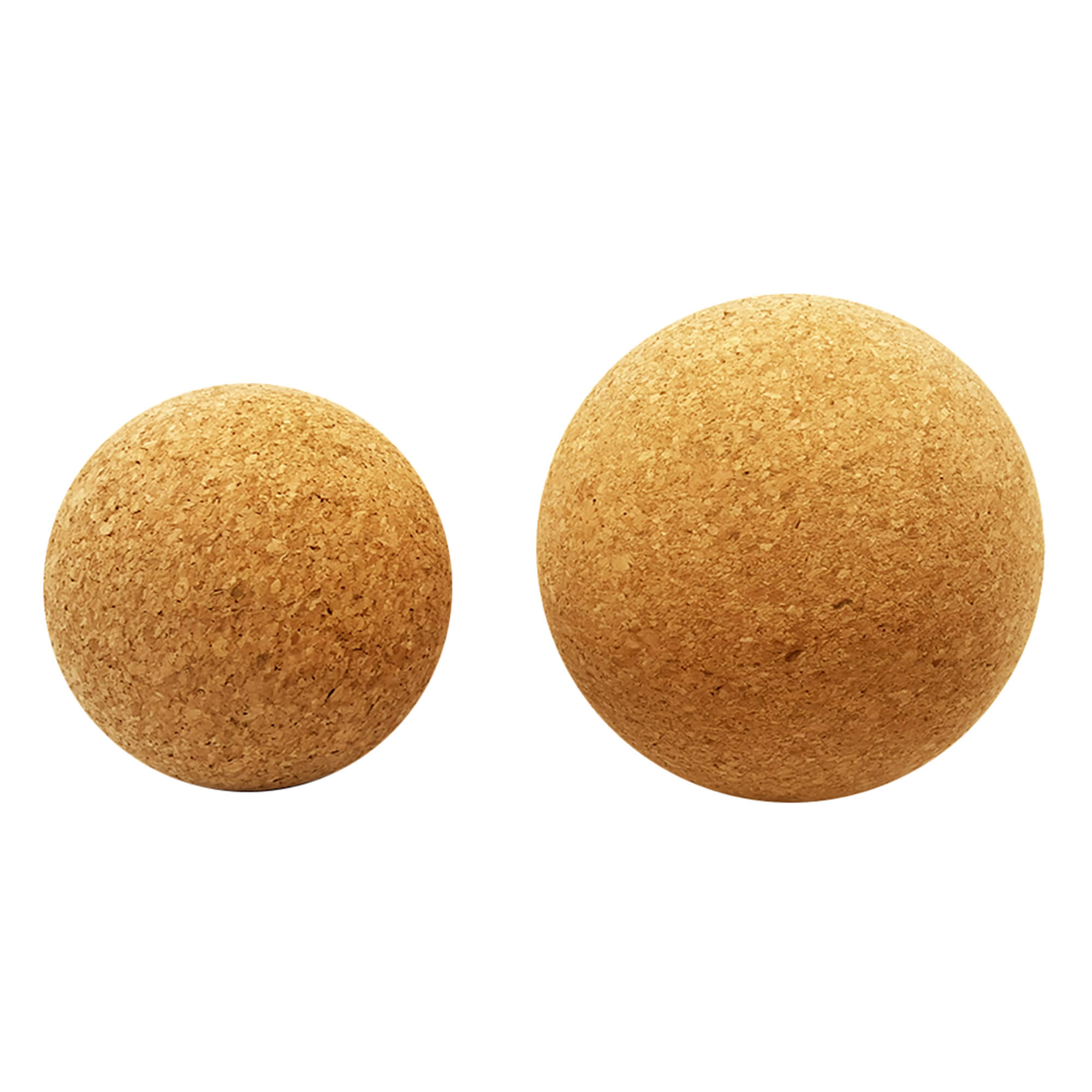 Yoga cork massage ball