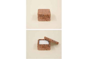 Cork soap box